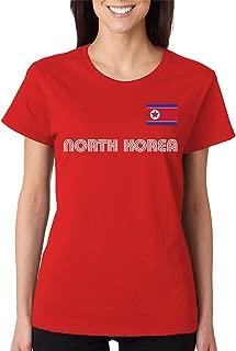 SpiritForged Apparel North Korea Soccer Jersey Women's T-Shirt