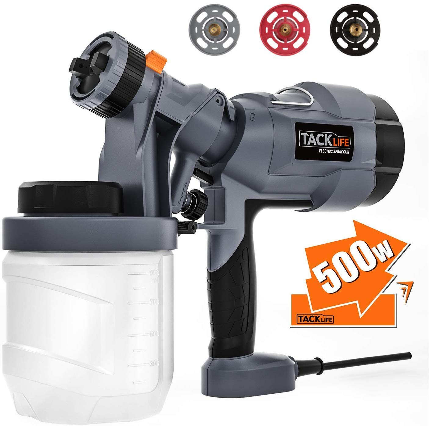 TACKLIFE Sprayer Electric Patterns Container SGP18AC