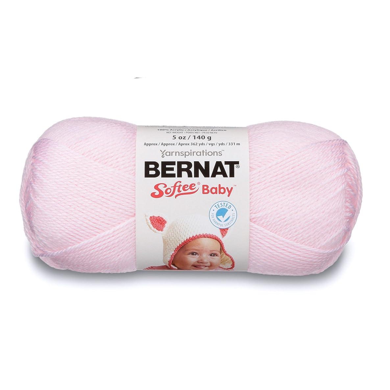 Bernat Softee Baby Yarn, 5 oz, Pink, 1 Ball