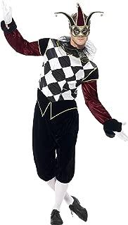 Men's Gothic Venetian Harlequin Costume