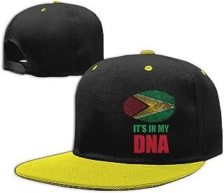 Guyana Flag Baseball DNA Ski Cap Men /& Women Knit Hats Stretchy /& Soft Beanie