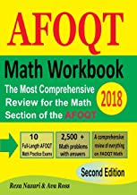 Math Workbook for AFOQT 2018: The Most Comprehensive Review for the Math Section of the AFOQT