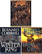 Bernard Cornwell Warlord Chronicles Collection 3 Books Set (The Winter King, Excalibur, Enemy of God)