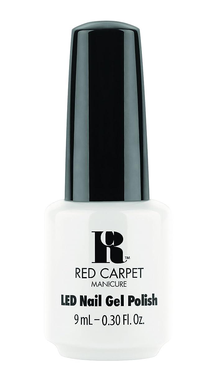 グリースペグモディッシュRed Carpet Manicure - LED Nail Gel Polish - White Hot - 0.3oz / 9ml
