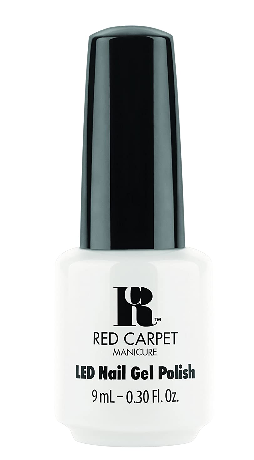 大宇宙自動化オーチャードRed Carpet Manicure - LED Nail Gel Polish - White Hot - 0.3oz / 9ml