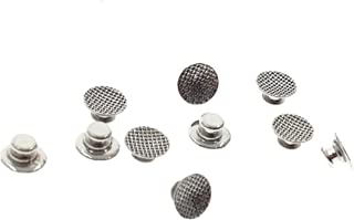 Lot of 30 Pcs, New Lingual Buttons (Round Base) Dental Orthodontic Dental Materials Dentist Orthodontist