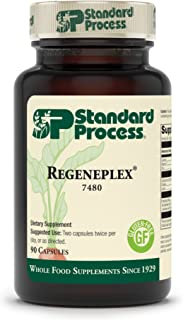 Standard Process Regeneplex - Whole Food Antioxidant, Blood Circulation and Skin Health, Digestion and Digestive Health wi...