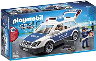 Playmobil 6920 City Action Police Squad Car with Lights and Sound-6920