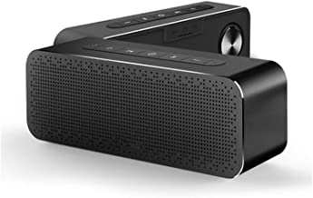 $206 » shiy Bluetooth Speaker Bluetooth Speaker Metal Portable Super Bass Wireless Speaker 3D Digital Sound Speaker Hands-Free Wa...