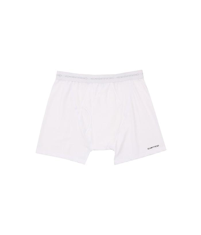 ExOfficio Give-N-Go(r) Boxer Brief (White) Men
