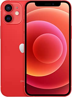Apple iPhone 12 mini with Facetime - 128GB, 5G, (PRODUCT)RED - Middle East Version