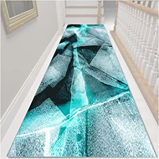 3D Runner Rug for Hallway, Very Long Entryway Carpet, Non Slip Washable Entry Area Rugs for Kitchen Corridor Stairs, Cutta...