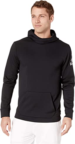 Workout Ready Melange Double Knit Over the Head Hoodie