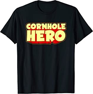 Beanbags Toss Cornhole Hero Game Bags and Boards T-Shirt