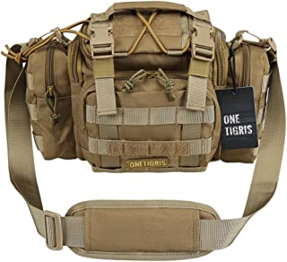 OneTigris Tactical Deployment Bag Compact Utility Carry Bag MOLLE Case Heavy Duty with Shoulder Strap