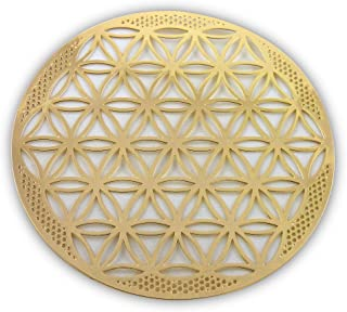 HeartsforLove Flower of Life Gold Plated 4