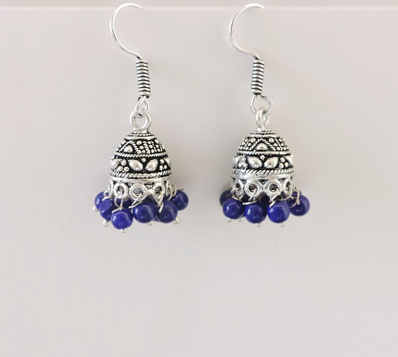 Oxidised Small Indian Earrings ES80 Jhumka Max 59% OFF Popular