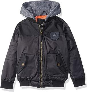 Boys' Flight Bomber Jacket with Hood