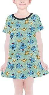 Rainbow Rules Genie and His Lamp Aladdin Disney Inspired Girls T-Shirt Dress