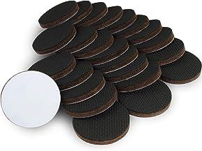 X-PROTECTOR Antislip pad – glijremmer voor meubels – 24 premium antislippads 50 mm – beste meubelstopper – rubberen voetje...