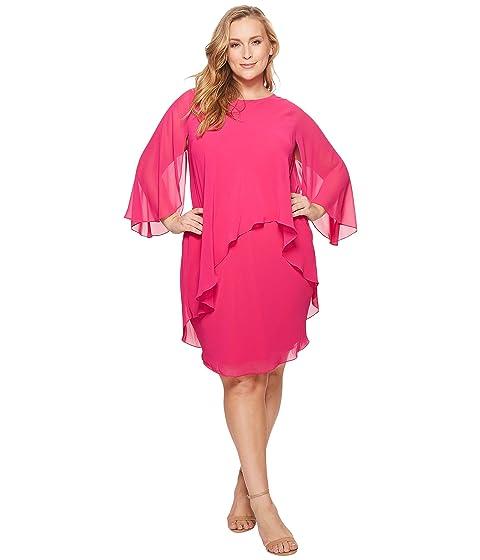 LAUREN Ralph Lauren Plus Size Apollonia Georgette Dress