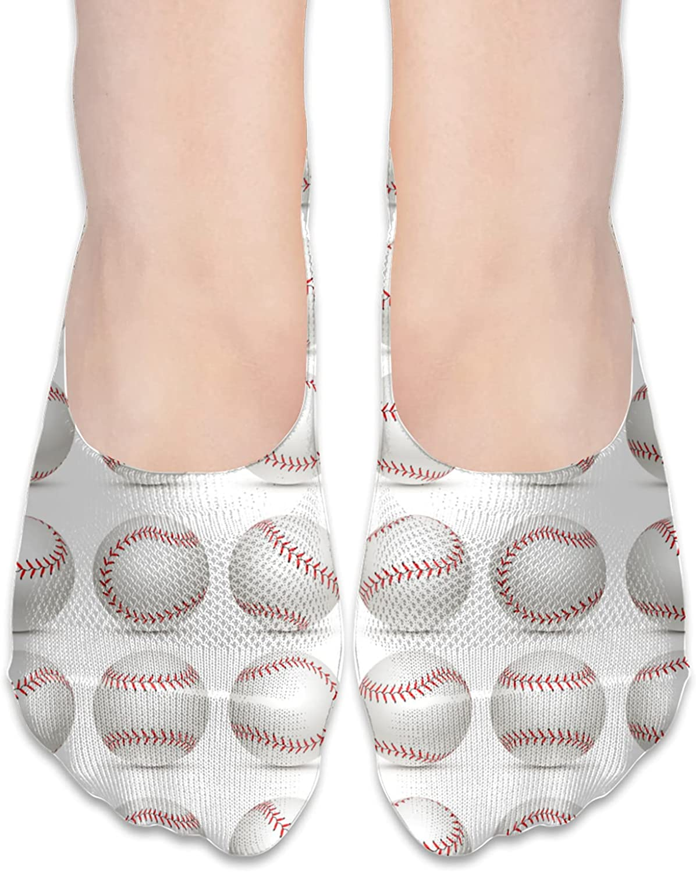 No Show Socks Women Men For American Baseball Flats Cotton Ultra Low Cut Liner Socks Non Slip