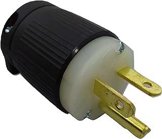 POWERTRONICS CONNECTIONS (TM). NEMA 5-20P 20A/125V Grounding Plug