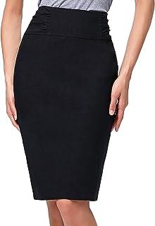 Kate Kasin Women's Knee Length Pencil Skirts Slim Fit...
