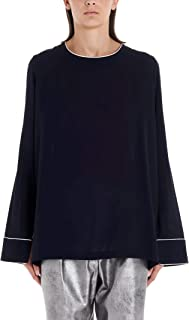 DI.LA3 PARI' Luxury Fashion Womens C09BLU Blue Blouse | Fall Winter 19