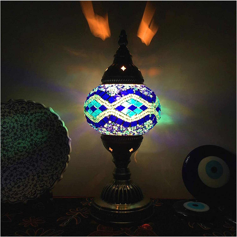 Table Lamp Vintage Turkish Handicraft San Diego Mall Stain Gl Popular brand Style
