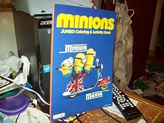 Bendon Hello London and Bello Minions Jumbo Coloring Books