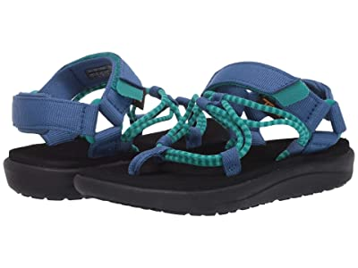 Teva Kids Voya Infinity (Little Kid/Big Kid) (Waterfall/Dark Blue) Kid
