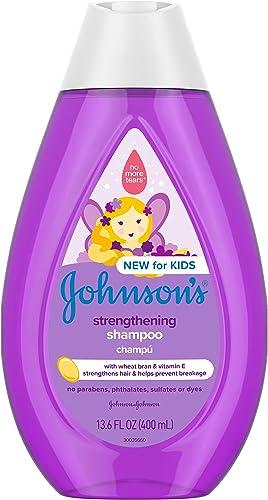 Johnson's Strengthening Tear-Free Kids' Shampoo, 13.6 Fl Oz