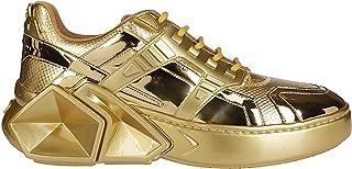 Luxury Fashion   Hide&jack Men 5GLDGLDGLD Gold Leather Sneakers   Spring-summer 20