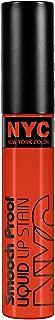 N.Y.C. New York Color Smooch Proof Liquid Lip Stain, Get Noticed !, 0.24 Fluid Ounce
