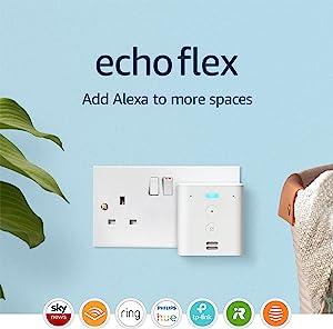 Echo Flex – Voice control smart home devices with Alexa