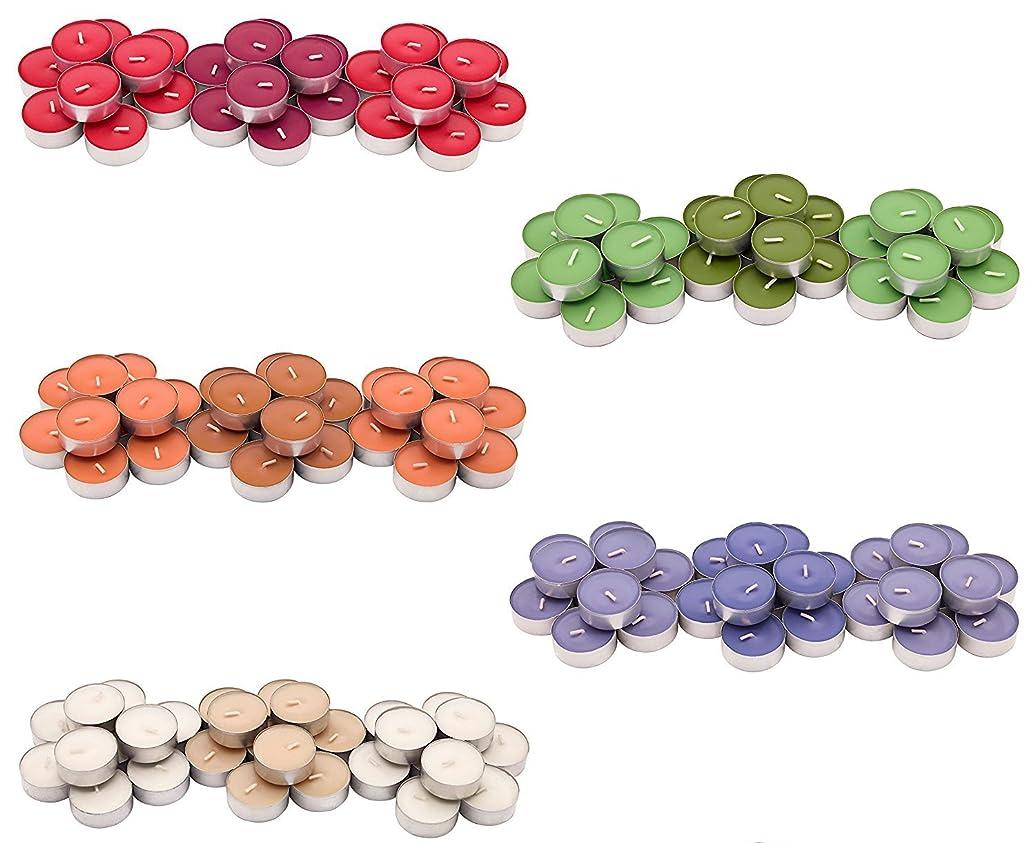 干し草舞い上がる期間IKEA SINNLIG 香り付ティーライト 30ピース × 5種類(レッドガーデンベリー、ピーチ&オレンジ、スイートバニラ、リンゴ&洋ナシ、ブラックベリー)
