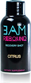 3AM Rebound Hangover Cure with Electrolytes and Liver Detox / Vegan, Non GMO, No Gluten , Low Sugar/ Orange Flavor with Lime, Turmeric, Mango, Ginger, Milk Thistle, Ginseng Pack of 6 (6)
