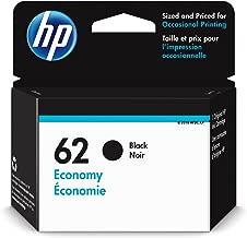 HP 62   Ink Cartridge   Black   Economy Size   1VV43AN