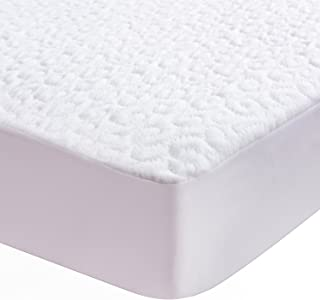 Lullabi Premium Hypoallergenic Waterproof Mattress Protector, Mattress Cover, Soft and Breathable, White, (Queen Size)