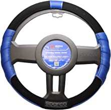 SPARCO-CORSA スパルココルサ ステアリングカバー Sサイズ ブルー SPC1108AZJS