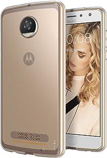Moto Z2 Play Case, Aeska Ultra [Slim Thin] Flexible TPU Gel Rubber Soft Skin Silicone Protective Case Cover for Motorola M...