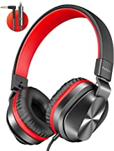 PeohZarr On-Ear Headphones with Microphone, Lightweight...
