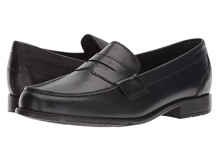 Rockport  Classic Loafer Lite Penny (Black II) Mens Slip-on Dress Shoes