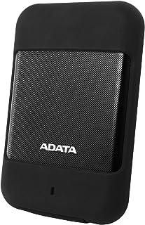 ADATA 2.5インチ ポータブルHDD HD700シリーズ 2TB USB3.0対応 防水・防塵性 Gショックセンサー搭載 3年保証 ブラック AHD700-2TU3-CBK
