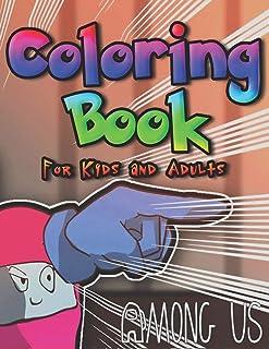 Bland oss målarbok för barn och vuxna: Över 50 sidor av hög kvalitet bland oss färgläggningsdesign för barn och vuxna som ...