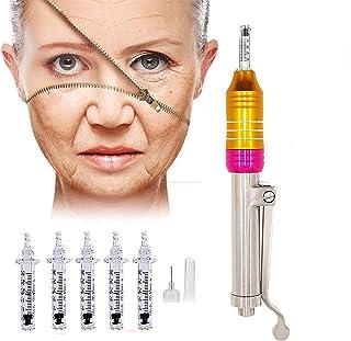 Hyaluron Pen, Massage Vernevelaar Pen Geen Naald Anti Aging Hyaluronzuur Injector Set Met 5 Ampullen Kop Voor Anti-Rimpel ...