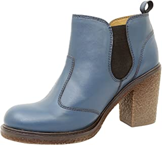 Athlego Women's Synthetic high Ankle Boots in Blue Color