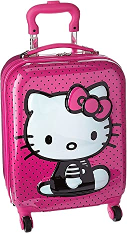 Hello Kitty 3D Pop Up Spinner Luggage
