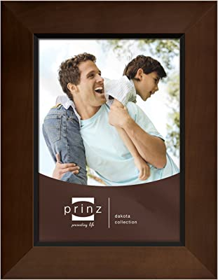 PRINZ 6-Inch by 8-Inch Dakota Dark Walnut Wood Frame